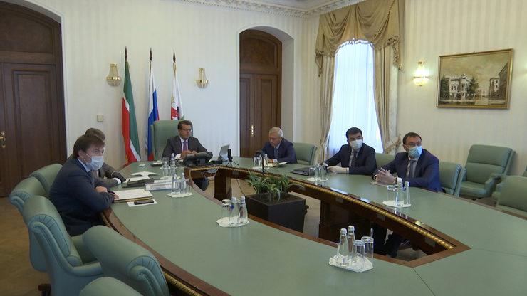 И.Метшин принял участие в конференции ОНФ по нацпроекту «Безопасные и качественные автомобильные дороги»