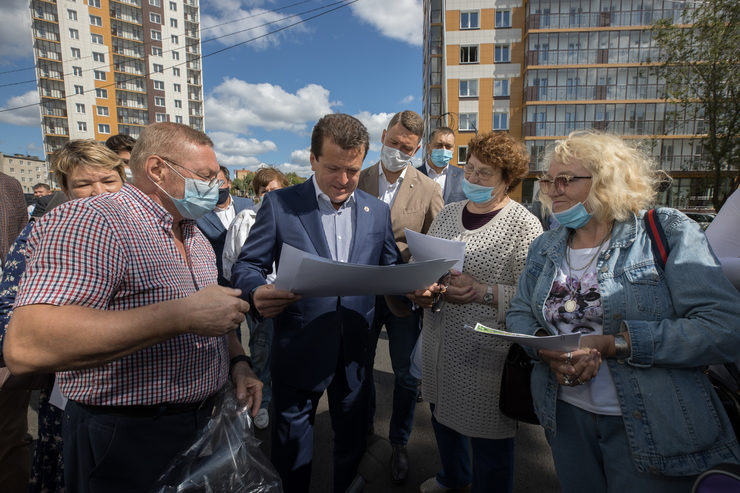 Ilsur Metshin met with senior tenants of the Kirovsky and Moskovsky districts of Kazan