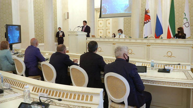 XLI session of the Kazan city Duma, 12.08.2020