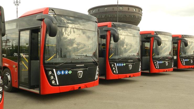 Новые автобусы «НефАЗ» переданы для городских пассажирских перевозок в Казани