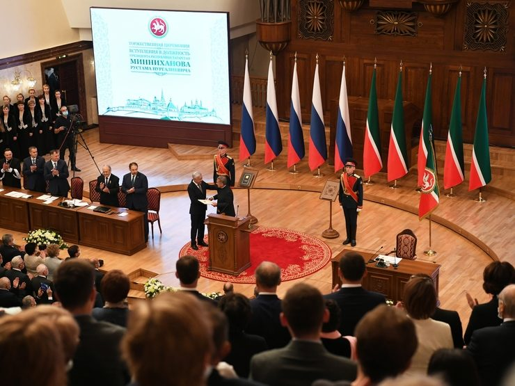 """Ilsur Metshin: """"Through you, the voters voted for the future of our Tatarstan"""""""
