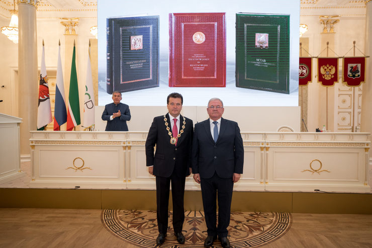 Ilsur Metshin was elected Head of the Kazan city municipality