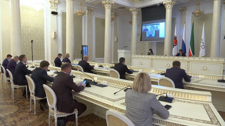 II session of the Kazan City Duma of the fourth convocation, 21.10.2020