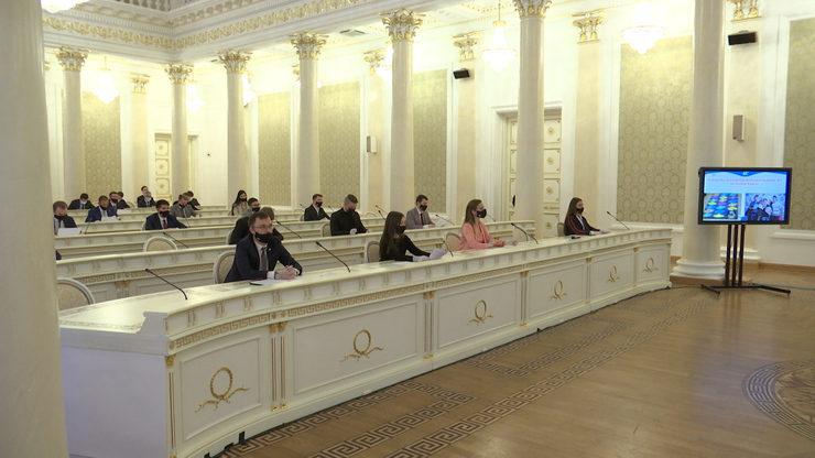 В Казани прошло I заседание городского Молодежного парламента