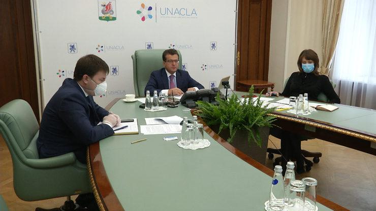 И.Метшин провел онлайн-заседание Совета Евразийского отделения ОГМВ