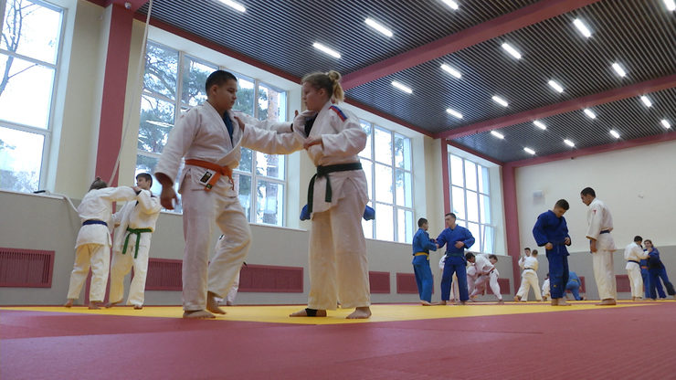 The judo hall was renovated at the Tasma Olympic reserve sports school