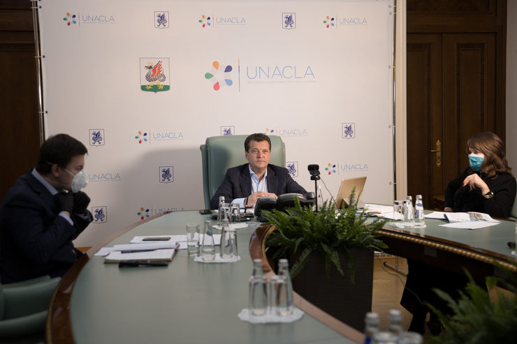 I.Metshin took part in the investment forum in Almaty