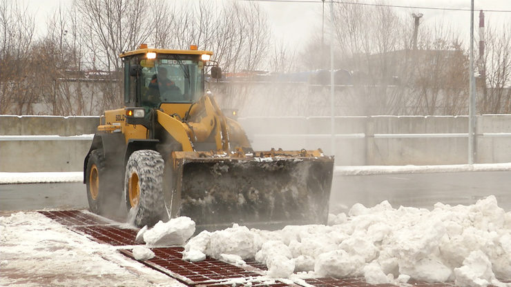 In Kazan a snowmelt station was put into operation on Adel Kutuy st.