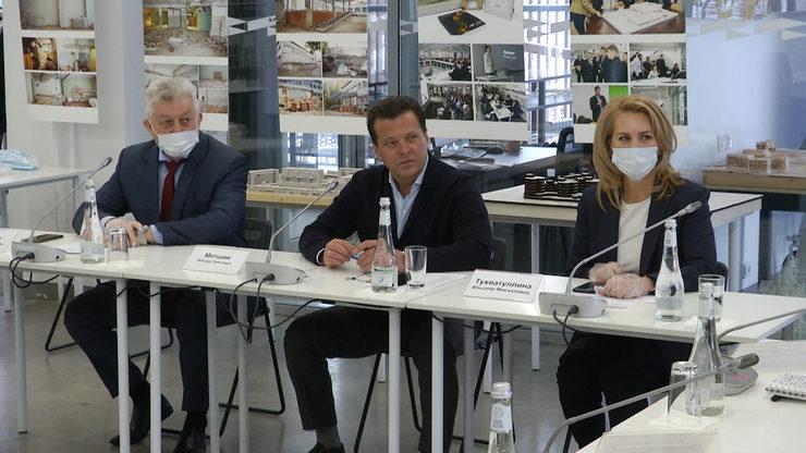 Ильсур Метшин предложил провести в Казани форум архитекторов