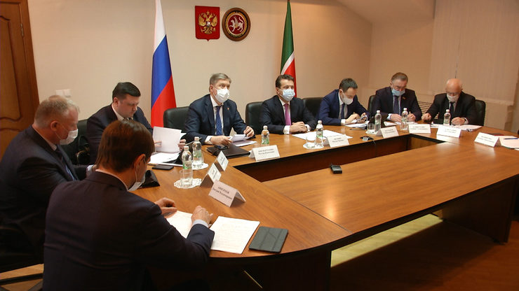 The Mayor of Kazan spoke at a meeting of the district advisory council for the development of local self-government