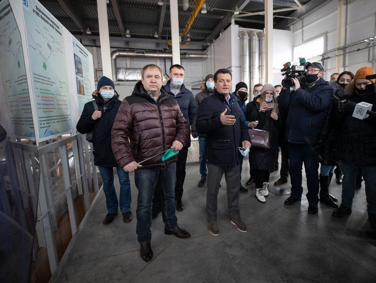 И.Метшин «Заречная» канализация-насос станциясен файдалануга тапшыру турында