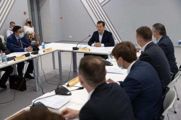 Мэр Казани встретился с председателями ТОСов, 21.04.2021