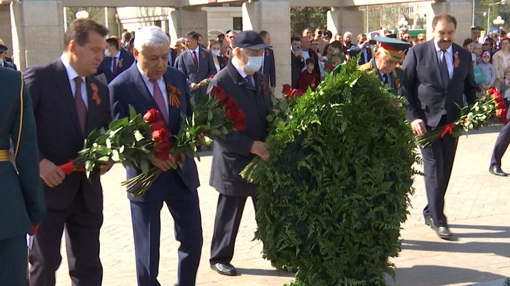 The war victims were honored in the Victory Park in Kazan