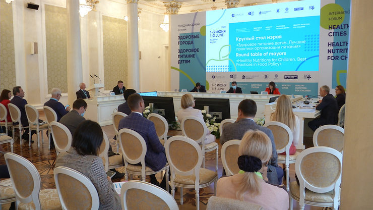 Round table of mayors on healthy nutrition for children, 02.06.2021