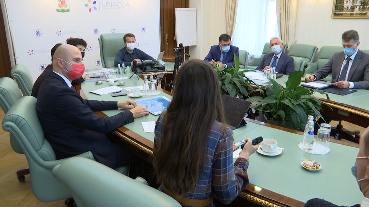 Мэру Казани представили концепции парка «Манзара» и Спортивного парка