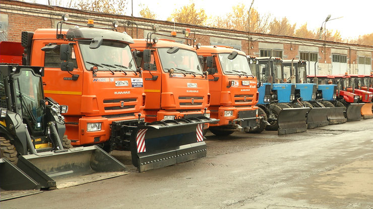 In the winter season, 559 snow cleaning vehicles will ensure the cleanliness of Kazan streets
