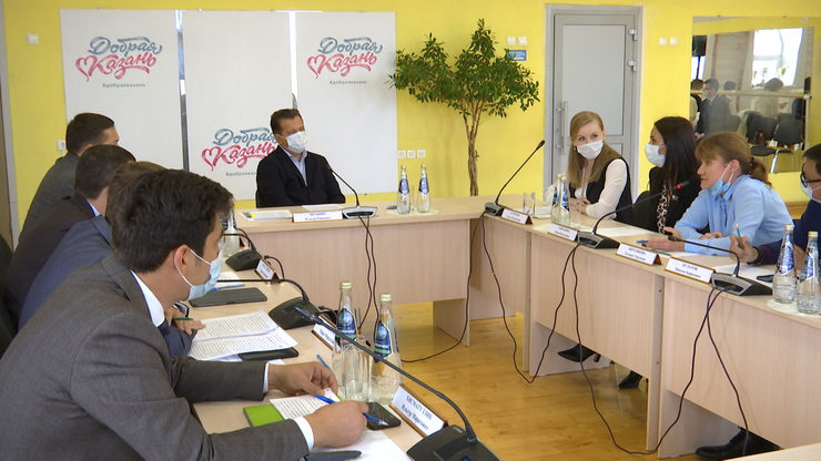 Ilsur Metshin holds a meeting dedicated to helping people with disabilities