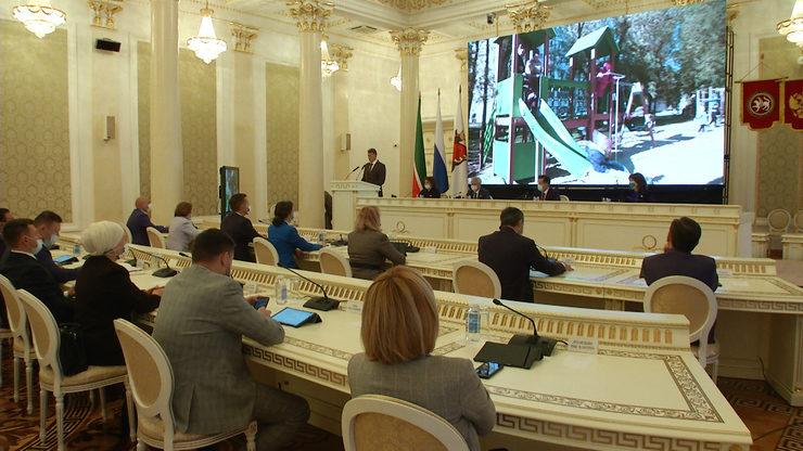За пять лет в Казани отремонтировано 1514 дворов на площади 1,7 млн кв.м